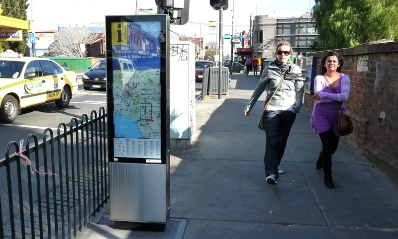 Melbourne_A Regionally Coordinated Pedestrian Signage Project