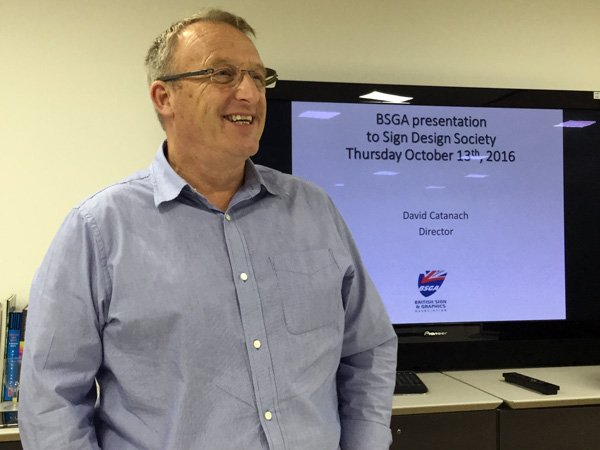 David Catanach (BGSA) at SDS talk in October 2016