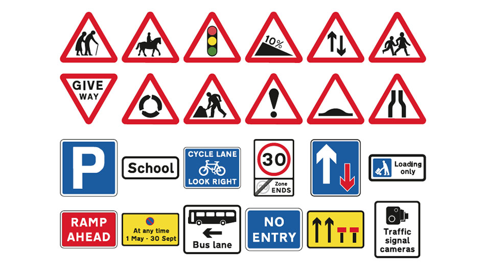 road traffic signs 1