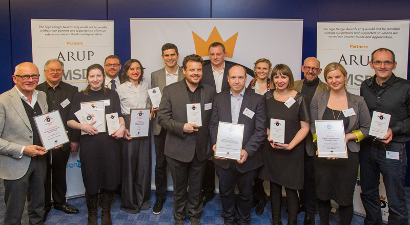 SDS Awards 2013 Winners and commended